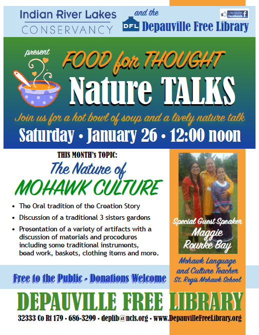 nature talk flyer