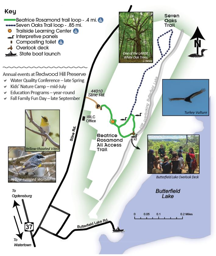 Trail Guide for Redwood Hill Preserve